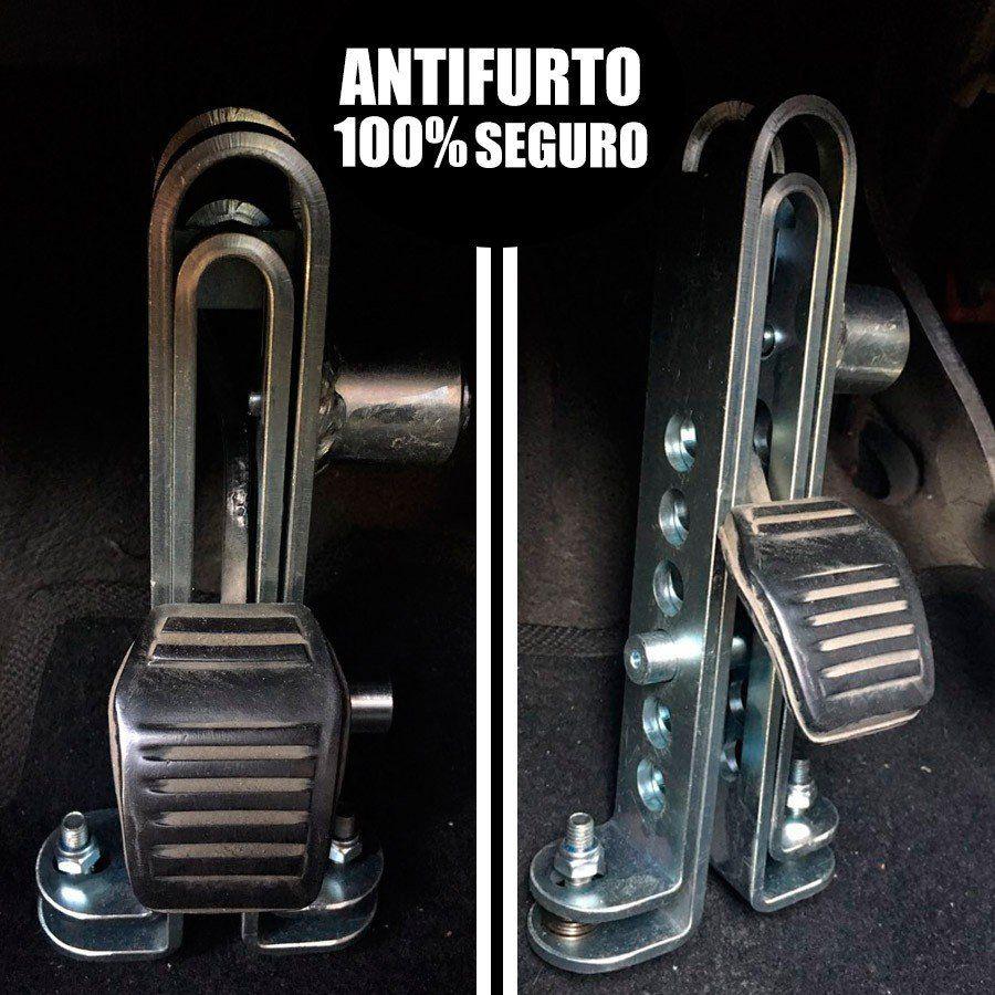 Trava antifurto de Pedal Ferro Chevrolet Celta Todos os modelos
