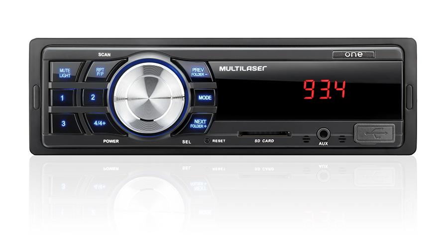 RÁDIO AUTOMOTIVO ORIGINAL FORD MP3 BUSTER