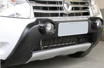 Kit Aventura Duster 2012 13 14 15 Completo Com Bumper Farol de Milha Alargador de Paralama e Friso Largo