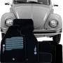Tapete Carpete Tevic Volkswagen Fusca 1959 Até 1996