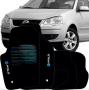 Tapete Carpete Tevic Volkswagen Polo Hatch Sedan 2008 Até 2017