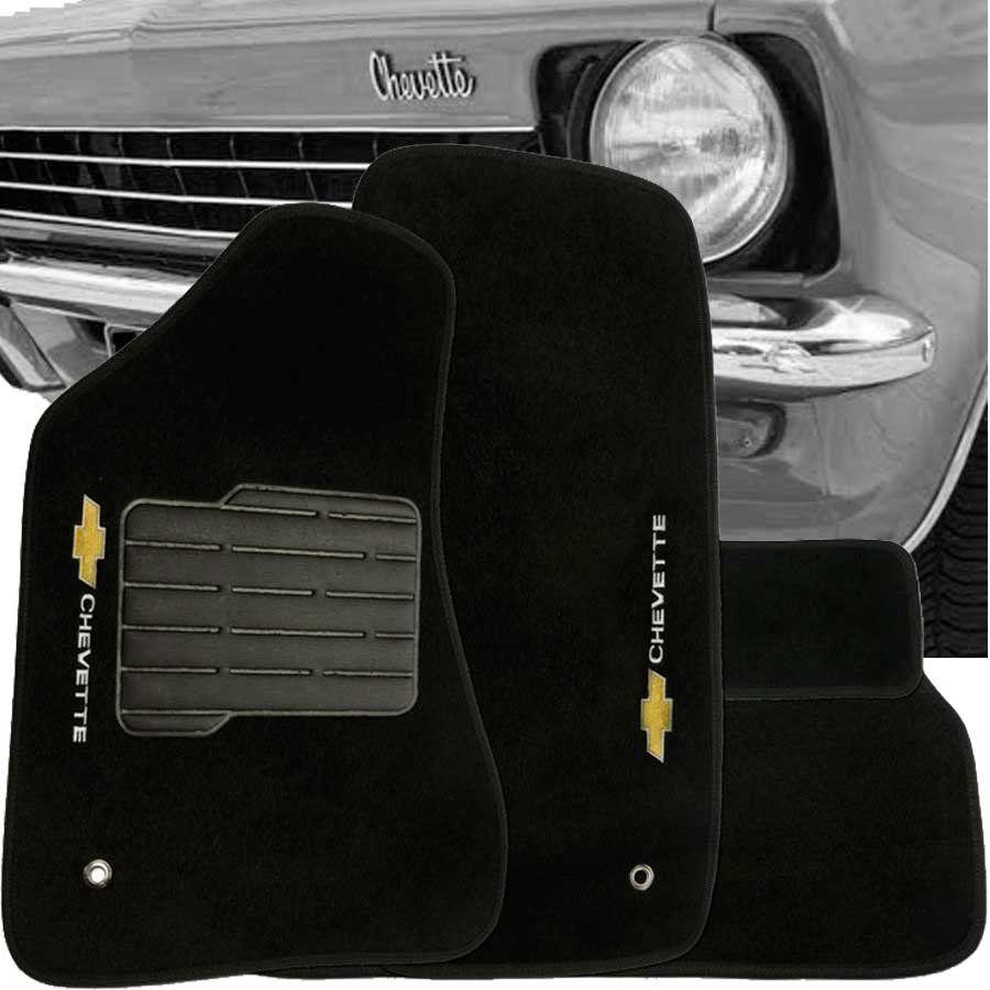 Tapete Carpete Tevic Chevrolet Chevette 1974 Até 1995