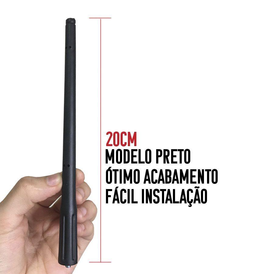 Antena de Teto Externa Am / Fm Fiat Ford Hyundai Honda