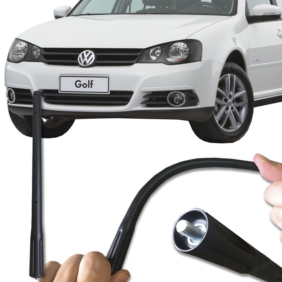 Antena de Teto Antico Externa Am / Fm Volkswagen Golf