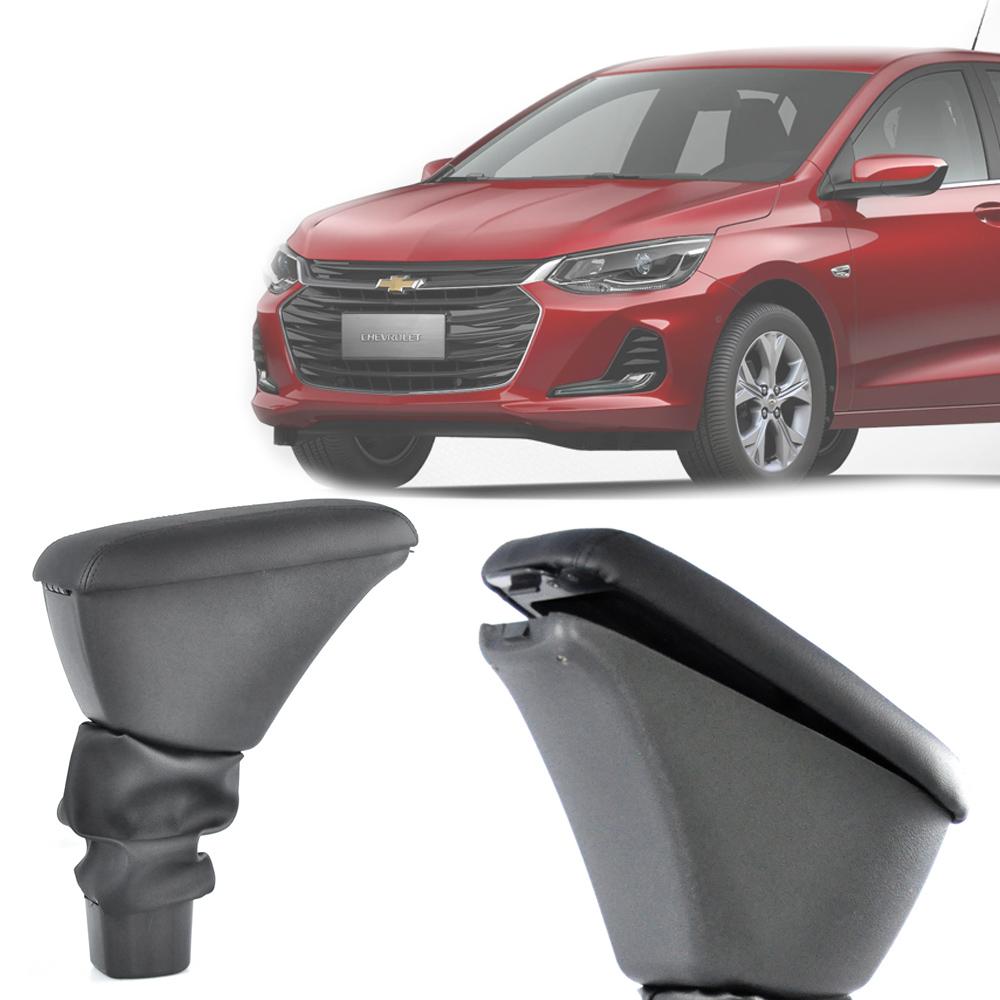 Apoio de Braço Central Com Porta Objetos Chevrolet Onix 2020 21