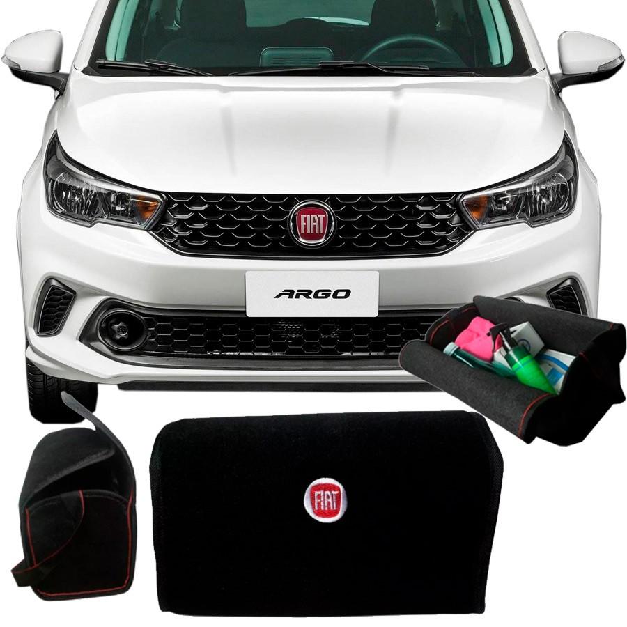 Bolsa Organizadora Porta Mala Fiat Argo Com Velcro Fixador