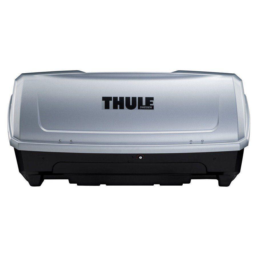 Bagageiro Caixa Mala Traseiro Fixado no Engate 420 Litros Thule Backup 900