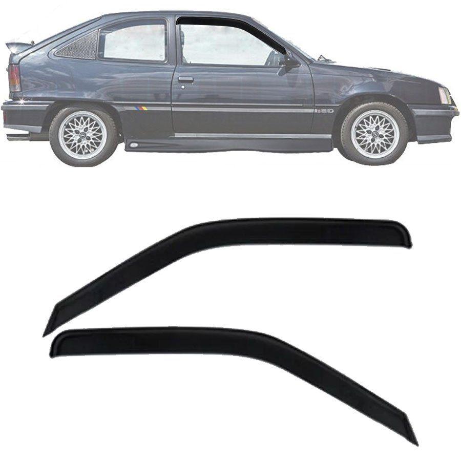 Calha de Chuva Esportiva Chevrolet Kadett 1988 Até 1998 2 Portas Fumê Tg Poli