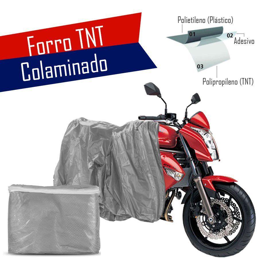 Capa Para Cobrir Motocicleta Moto Impermeável Com Forro Tnt
