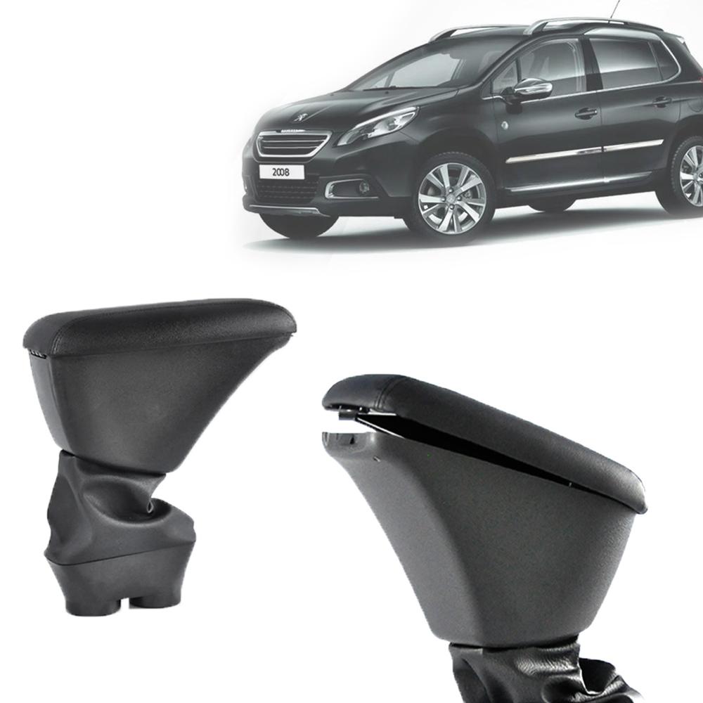 Apoio de Braço Central Com Porta Objetos Peugeot 2008 2015 16 17 18 19 20 21