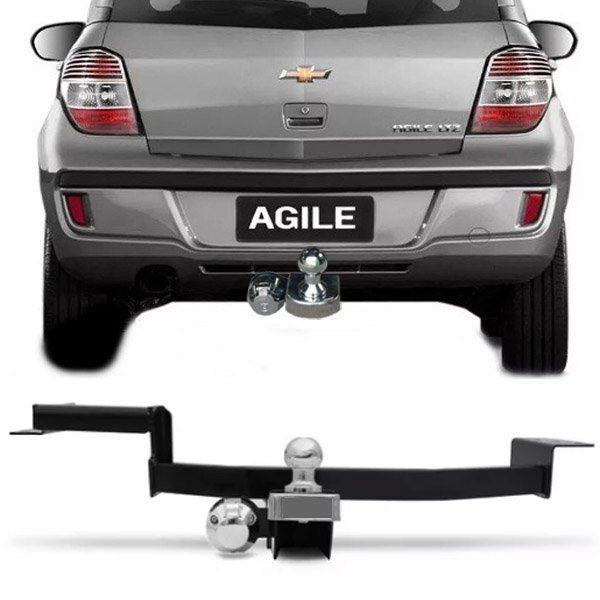 Engate Para Reboque Chevrolet Agile 2009 10 11 12 13  Tração 400Kg InMetro