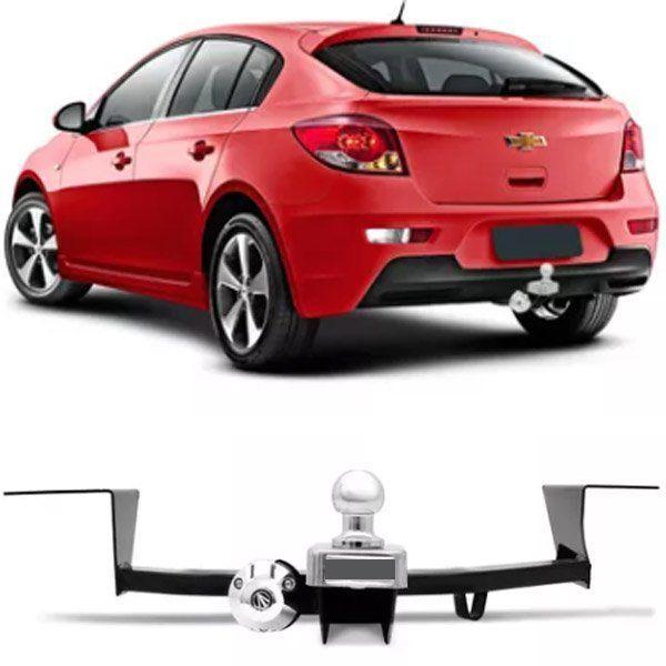 Engate Para Reboque Rabicho Chevrolet Cruze Hatch Sport6 2012 13 14 15 16 Tração 400Kg InMetro