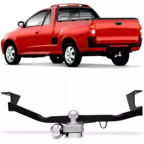 Engate Para Reboque Rabicho Chevrolet Montana 2003 04 05 06 07 08 09 10 Tração 400Kg InMetro