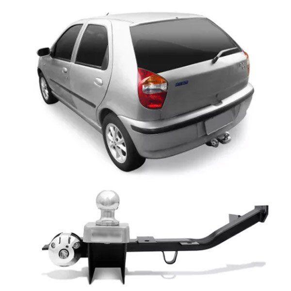 Engate Para Reboque Rabicho Fiat Palio 2001 02 03 Tração 400Kg InMetro