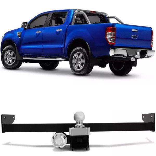 Engate Para Reboque Rabicho Ford Ranger 2013 14 15 16 17 18 19 Tração 1000Kg InMetro