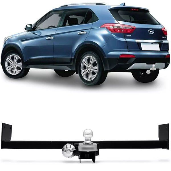 Engate Para Reboque Rabicho Hyundai Creta 2017 18 19 20 21 22 Tração 400Kg InMetro