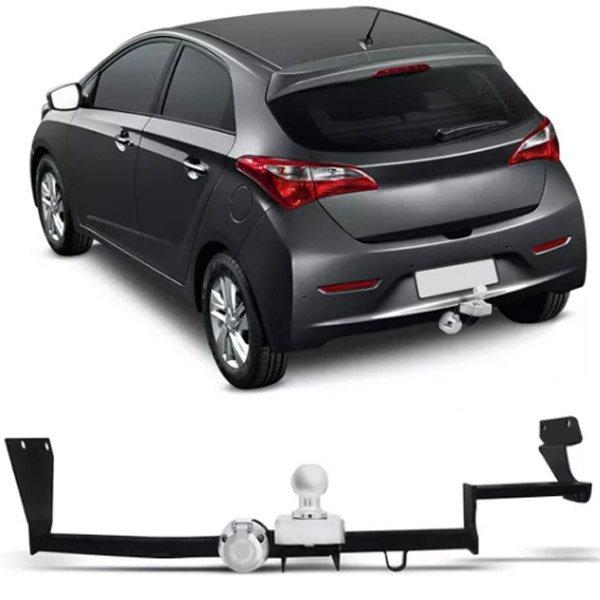 Engate Para Reboque Rabicho Hyundai Hb20 2012 13 14 15 16 17 / Hb20x Hatch 2012 13 14 15 Tração 400Kg InMetro
