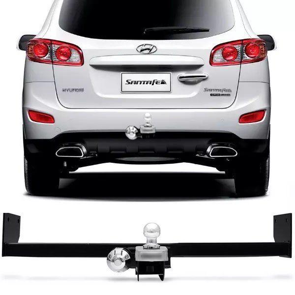 Engate Para Reboque Rabicho Hyundai Santa Fé 2007 08 09 10 11 12 Tração 400Kg InMetro