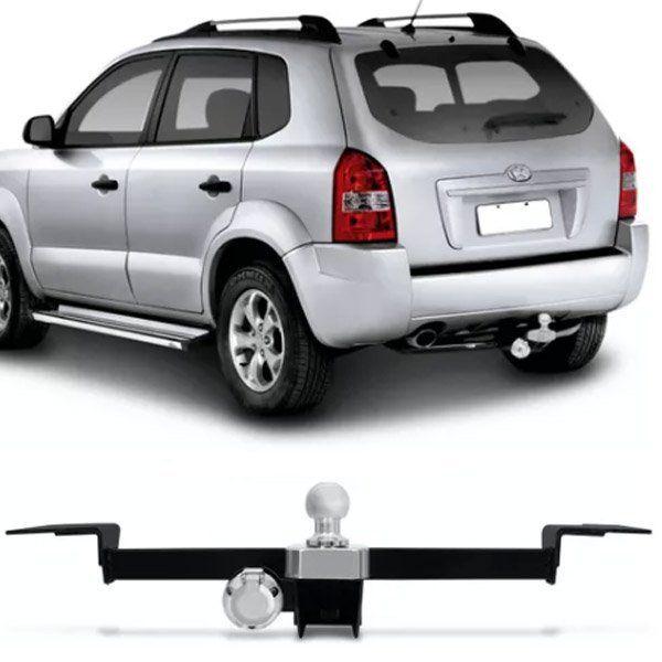 Engate Para Reboque Rabicho Hyundai Tucson 2005 Até 2016 Tração 400Kg InMetro