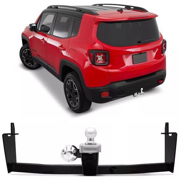 Engate Para Reboque Rabicho Jeep Renegade 2015 16 17 18 Tração 400Kg InMetro