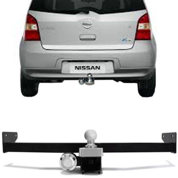 Engate Para Reboque Rabicho Nissan Grand Livina 2009 10 11 12 Tração 400Kg InMetro