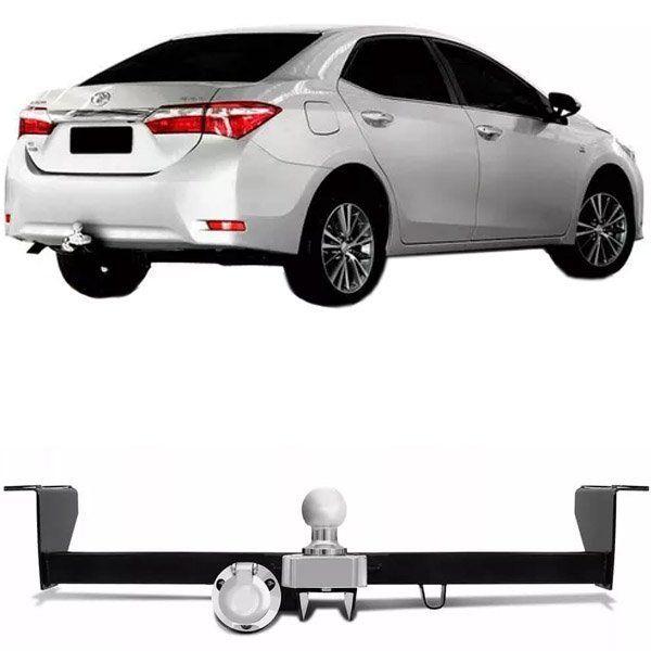 Engate Para Reboque Rabicho Toyota Corolla 2014 15 16 17 18 19 Tração 500Kg InMetro