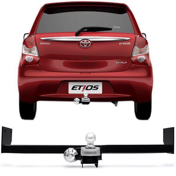 Engate Para Reboque Rabicho Toyota Etios Hatch 2012 13 14 15 16 17 Tração 400Kg InMetro