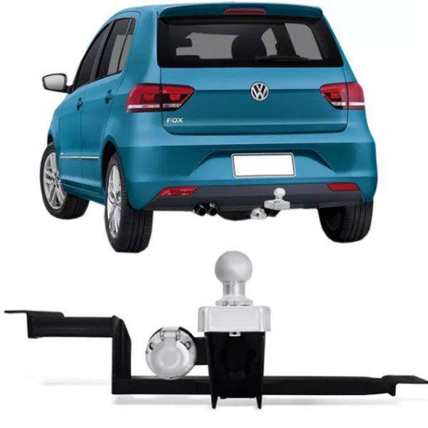 Engate Para Reboque Rabicho Volkswagen Fox 2004 Até 2017 Tração 400Kg InMetro