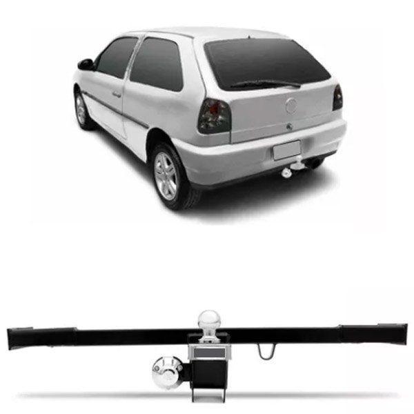 Engate Para Reboque Rabicho Volkswagen Gol Bola 1995 96 97 98 Tração 400Kg InMetro