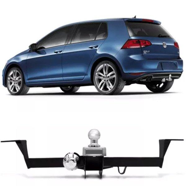 Engate Para Reboque Rabicho Volkswagen Golf Highline 1.4 Tsi Gti 2.0 Msi 2013 14 15 16 17 Tração 400Kg InMetro