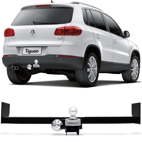 Engate Para Reboque Rabicho Volkswagen Tiguan 2018/... Tração 400Kg InMetro
