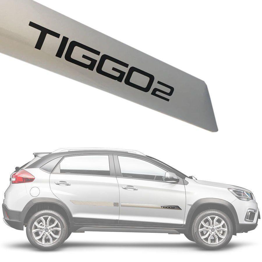Friso Lateral na Cor Original Chery Tiggo 2 Tiggo2 2018 19