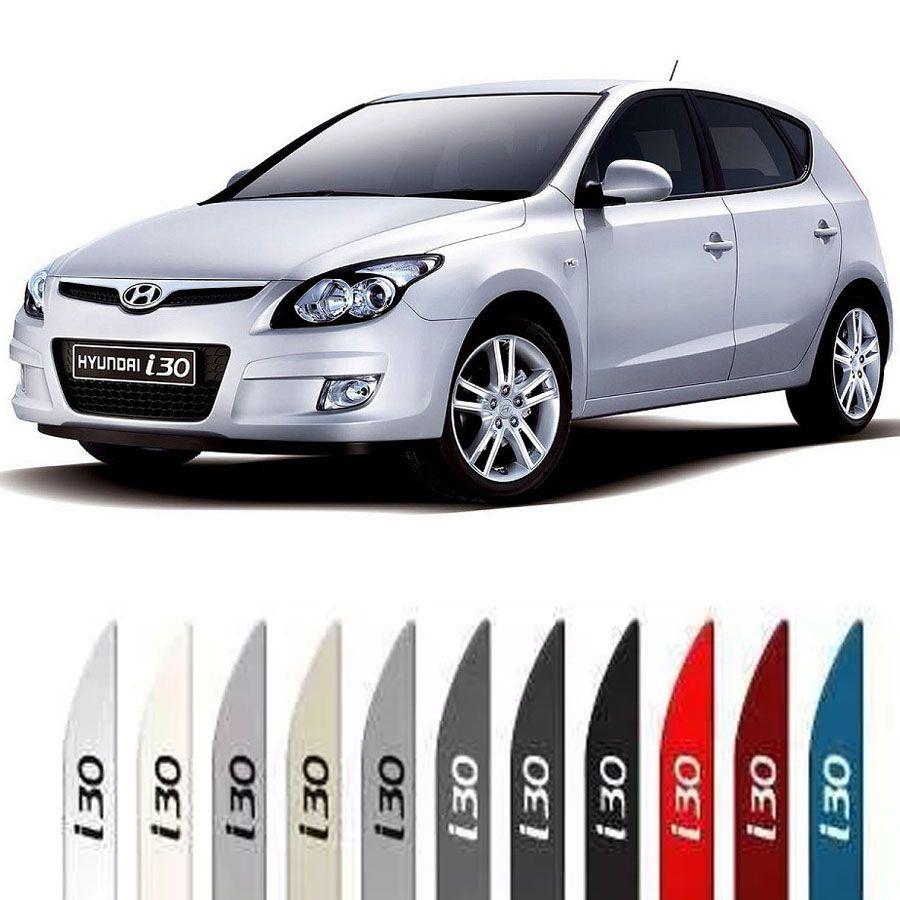 Friso Lateral na Cor Original Hyundai I30 2009 10 11 12 13 14