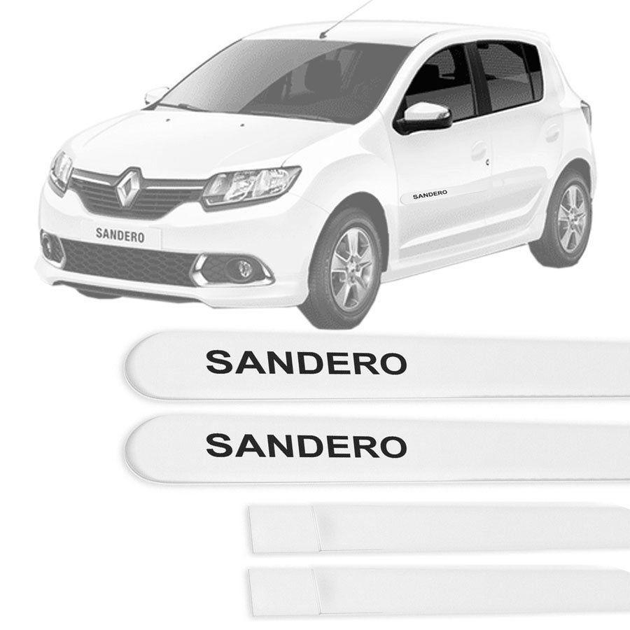 Friso Lateral na Cor Original Renault Sandero 2015 16 17 18 19