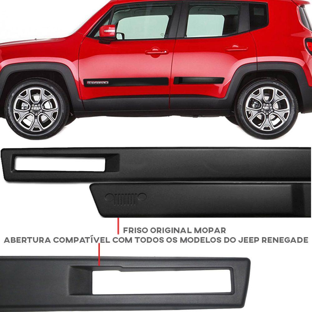 Friso Lateral Original Mopar Jeep Renegade 2016 17 18 19