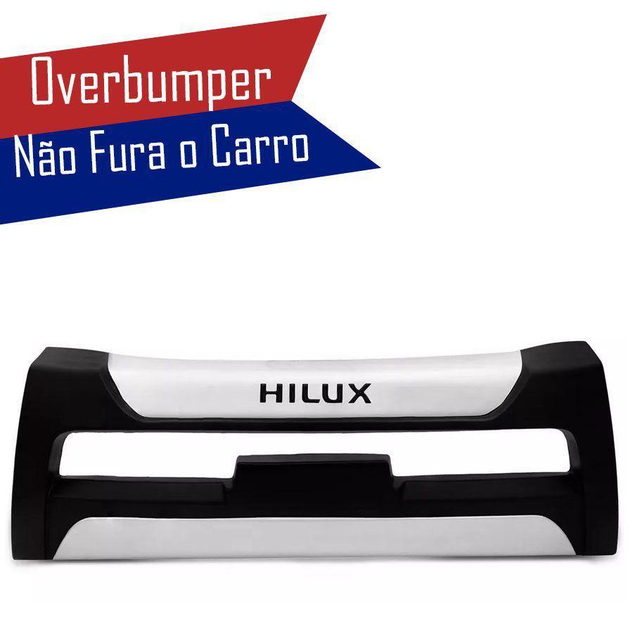Kit Overbumper Bumper Front Bumper Toyota Hilux 2005 06 07 08 09 Cabine Dupla