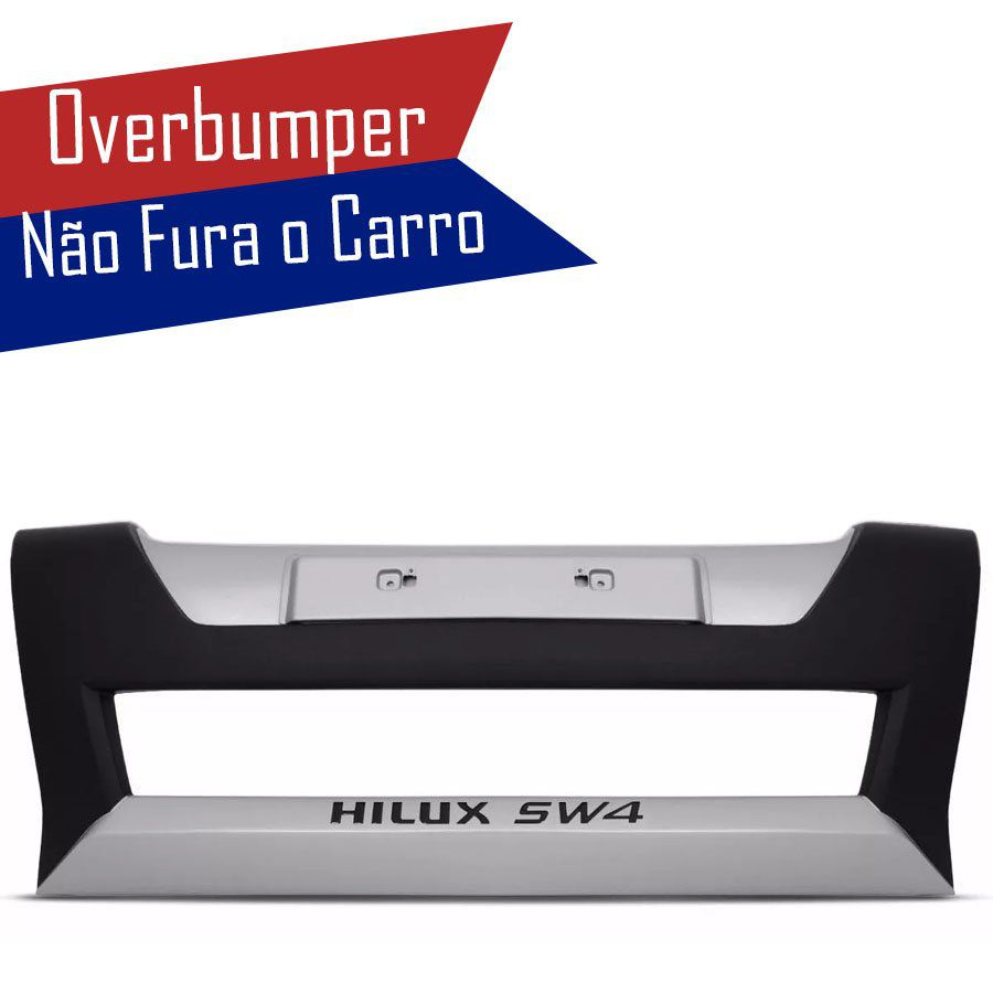 Kit Overbumper Bumper Front Bumper Toyota Hilux Sw4 2012 13 14 15