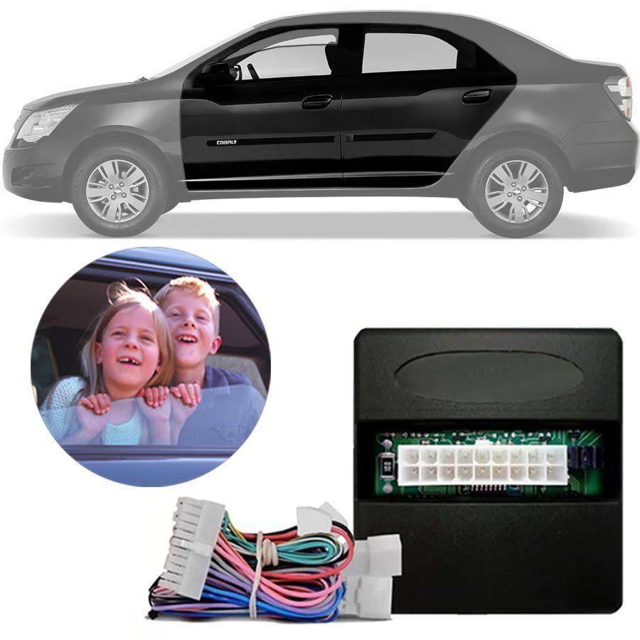 Módulo de Vidro Elétrico Chevrolet Cobalt 2012 13 14 15 Função Antiesmagamento PRO 2.5 AB