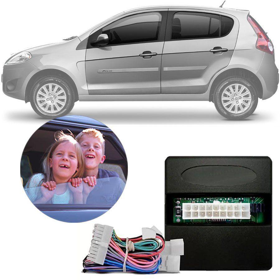 Módulo de Vidro Elétrico Fiat Palio 2002 03 04 05 06 07 08 09 10 11 12 13 14 15 16 17 18 19 Função Antiesmagamento PRO 4.45 DR