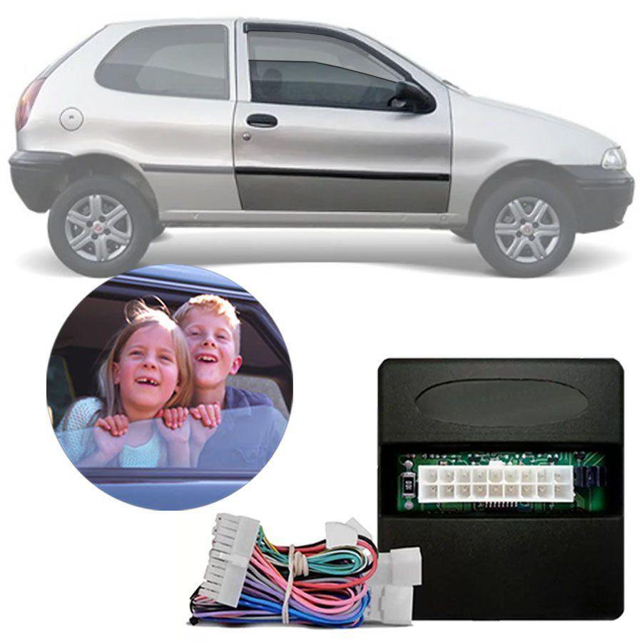 Módulo de Vidro Elétrico Fiat Palio 2002 Em Diante | Strada | Grand Siena | Palio Weekend | Doblo | Linea Função Antiesmagamento PRO 2.16 EN
