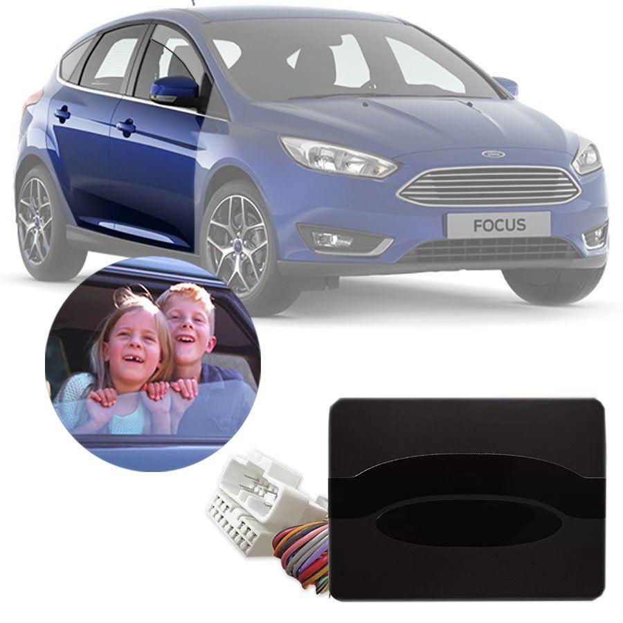 Módulo de Vidro Elétrico Ford Focus 2014 15 16 17 18 19 Função Antiesmagamento PRO 4.40 BU