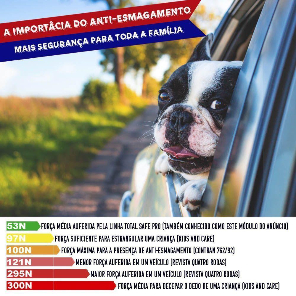 Módulo de Vidro Elétrico Jac T8 2014 15 16 17 Função Antiesmagamento PRO 2.5 CD