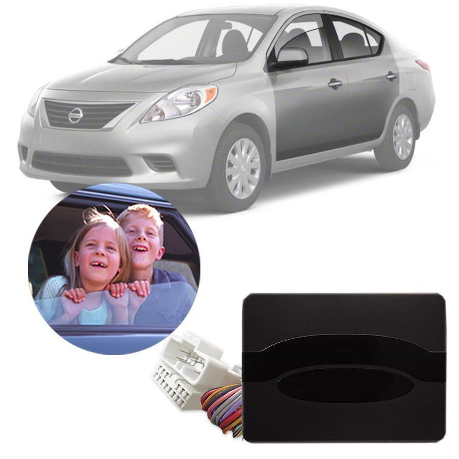 Módulo de Vidro Elétrico Nissan Versa 2011 12 13 14 Com Vidros Automatizados nas Portas Dianteiras Função Antiesmagamento PRO 2.9 BB