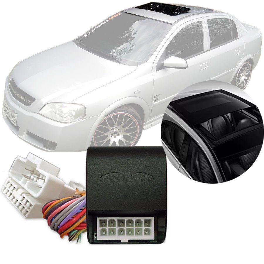 Módulo Fechamento Teto Solar Automatizado Chevrolet Astra 1998 Até 2012 Com Teto Solar Original LVX 5.6