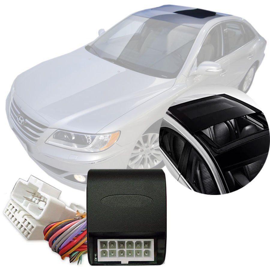 Módulo Fechamento Teto Solar Automatizado Hyundai Azera 2008 09 10 11 Com Sistema de Teto Solar Original LVX 5 Y