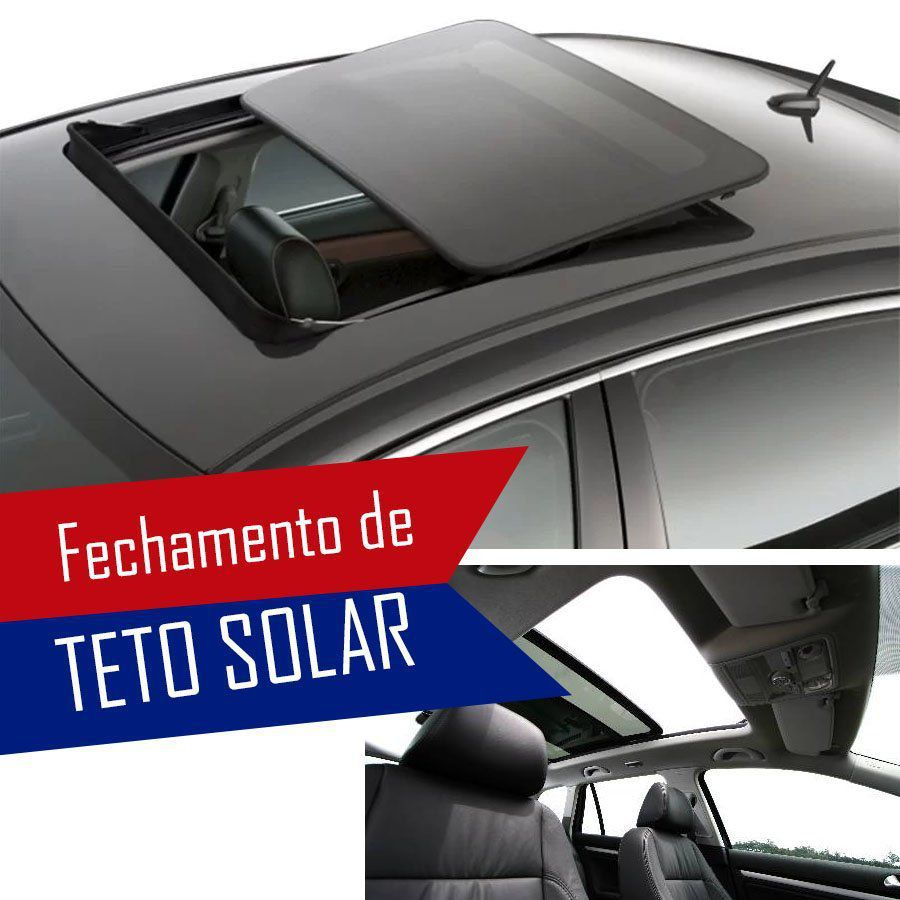 Módulo Fechamento Teto Solar Automatizado Mitsubishi Asx | Outlander | Pajero | Lancer Com Sistema de Teto Solar Original LVX 5