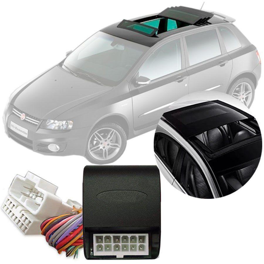 Módulo Fechamento Teto Solar Automatizado Tury Fiat Stilo 2003 04 05 06 07 08 09 10 11 Com Sistema de Teto Solar Original LVX 5