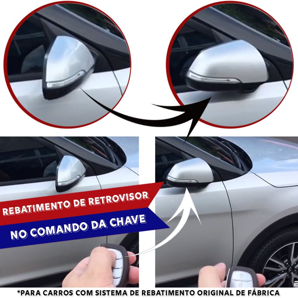 Módulo Rebatimento de Retrovisor Elétrico Chevrolet S10 S-10 LTZ Trailblazer Flex 2012 13 14 15 PARK 2.1 J