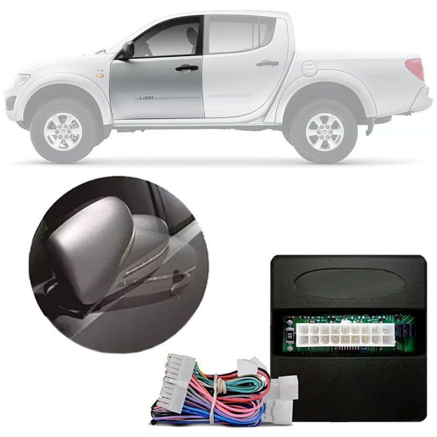 Módulo Rebatimento Espelho Retrovisor Elétrico Mitsubishi L200 Triton 2012 em Diante | Pajejro Dakar 2010 em Diante| Pajero Full Até 2014 PARK 2 A