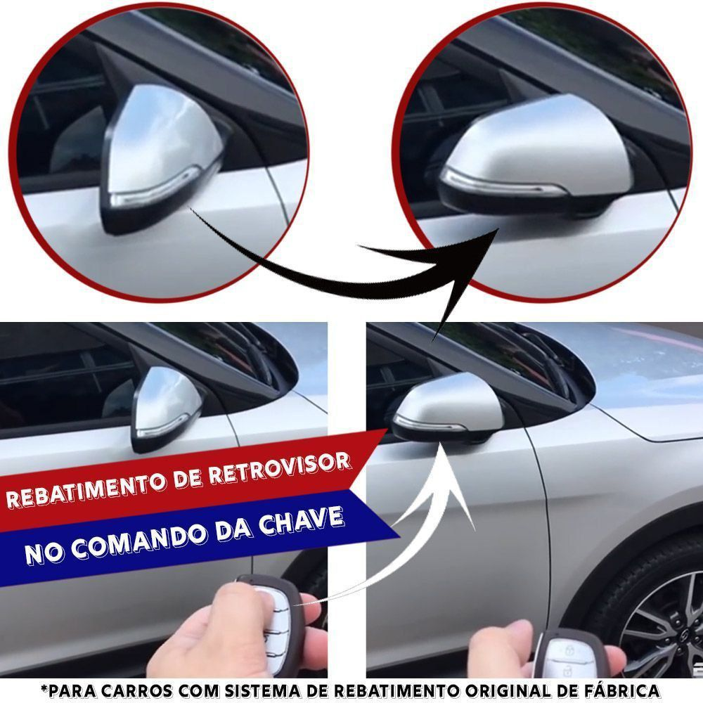 Módulo Rebatimento Retrovisor Elétrico Kia Cerato Koup Até 2012 PARK 3.2.4 D